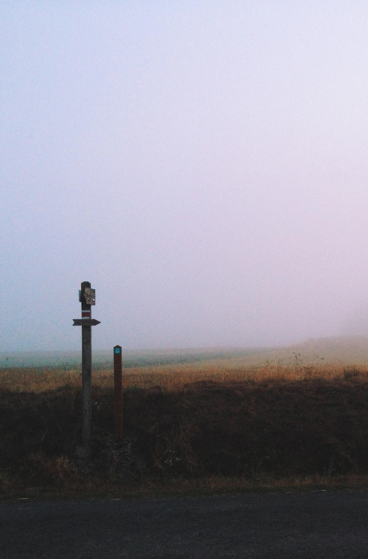 iPhone 4 lock screen wallpaper foggy trails